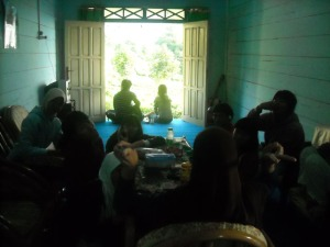 Ruang Tamu Villa Pemda Lahat, Pagaralam