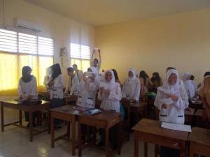 Kelas XI IPA 2 Srijaya Negara Palembang