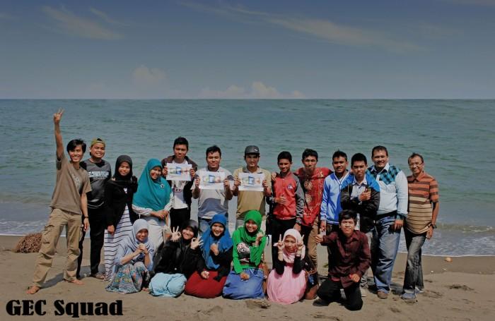 GEC Squad di Pantai Ujong Blang
